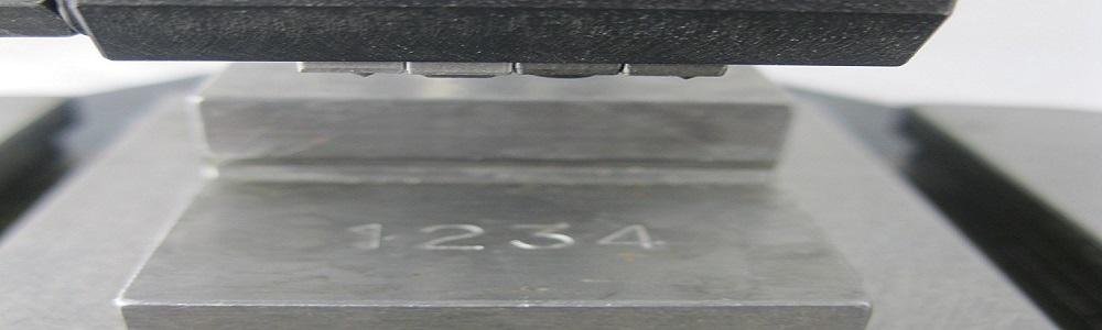 маркировка клеймением