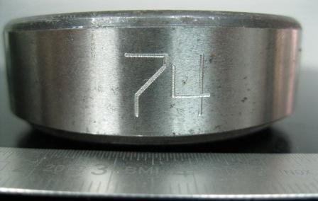 ударно точечная маркировка подщипников